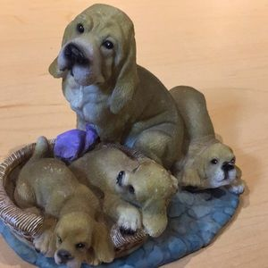 3 for $15 Dog ornament Mom and her puppies